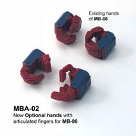 MBA-02 Articulated hands