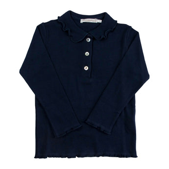 GIRL BLUE POLO SHIRT