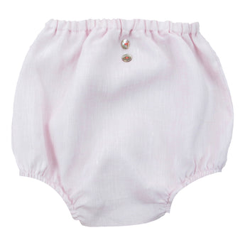 PINK LINEN BLOOMERS