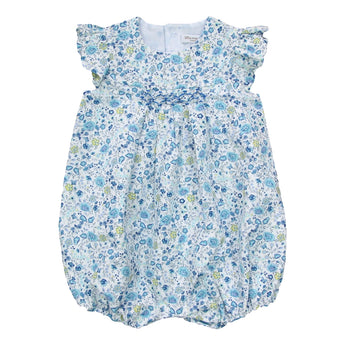 LIBERTY BLUE BUBBLE ROMPER