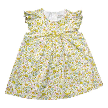 YELLOW LIBERTY DRESS
