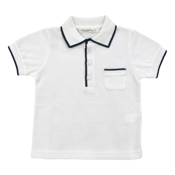 POLO WITH NAVY BLUE PROFILE
