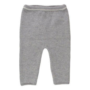 GREY CASHMERE TROUSERS