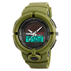 SKMEI 1275 Solar Surf Wristwatch, Green