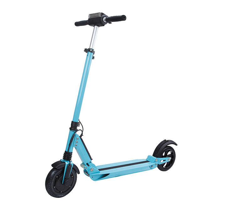 "iScooter 8"" Foldable Electric Scooter, Blue"