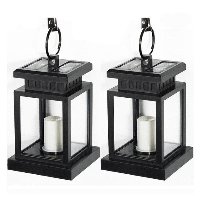 Classic Solar Powered LED Candle Lanterns, 2 & 4 Pack