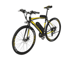 Lankeleisi RS600 Electric Bike, Yellow