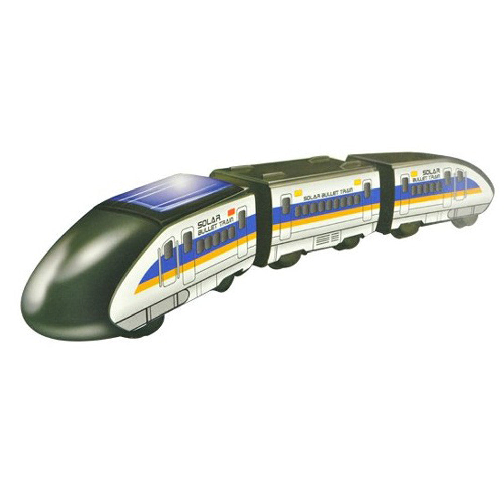 Solar Powered Bullet Train