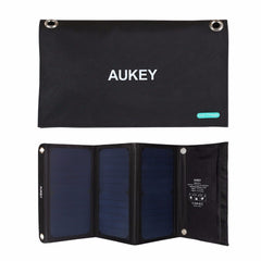 Aukey PB-P4 21W Dual Port Solar Charger