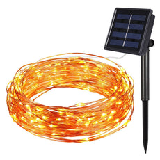 10m 100 LED Solar Light String