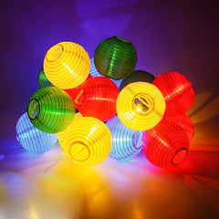 String of 10, 20 or 30 Waterproof LED Lanterns