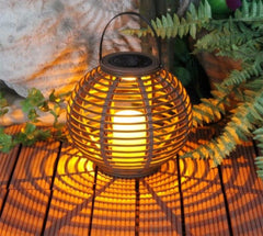 Yunji Waterproof Solar Powered Rattan Light