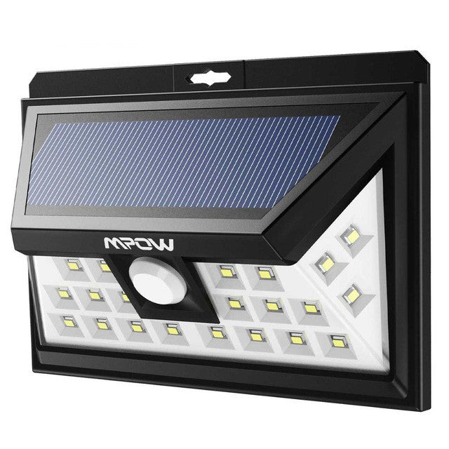 Mpow 24 LED Solar Powered Motion Sensor Light