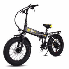 Pride Land Rover Electric Bike, Black