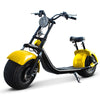 Customizable Harley Style Electric Scooter, Yellow