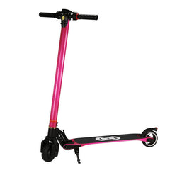 FLJ Electric Scooter 10.4Ah Battery, Pink