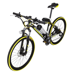 Lankeleisi MX3.8 Electric Bike, Yellow