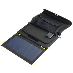 20W Folding Solar Panel Bag incl. USB Charging