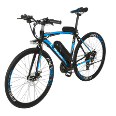 Lankeleisi RS600 Electric Bike, Blue