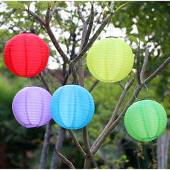 Outdoor Solar Powered Hanging Lanterns, LED 9m