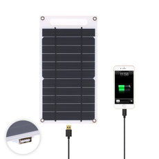 Ultra Thin 7.8W Solar Panel Charger with USB Port