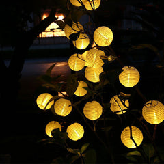 Hanging 10 LED Solar Light String