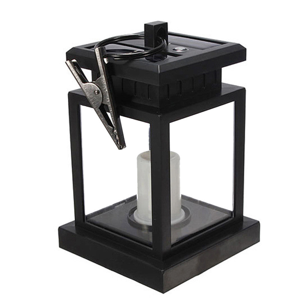 Classic Solar Powered LED Candle Lantern