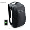 Kingsons Brand 15.6'' Men Laptop Backpack External USB Charge Antitheft Computer Backpacks Male /Women Waterproof Bags