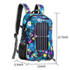 17L 7W Solar Panel Backpack with USB Charging and Water Bag