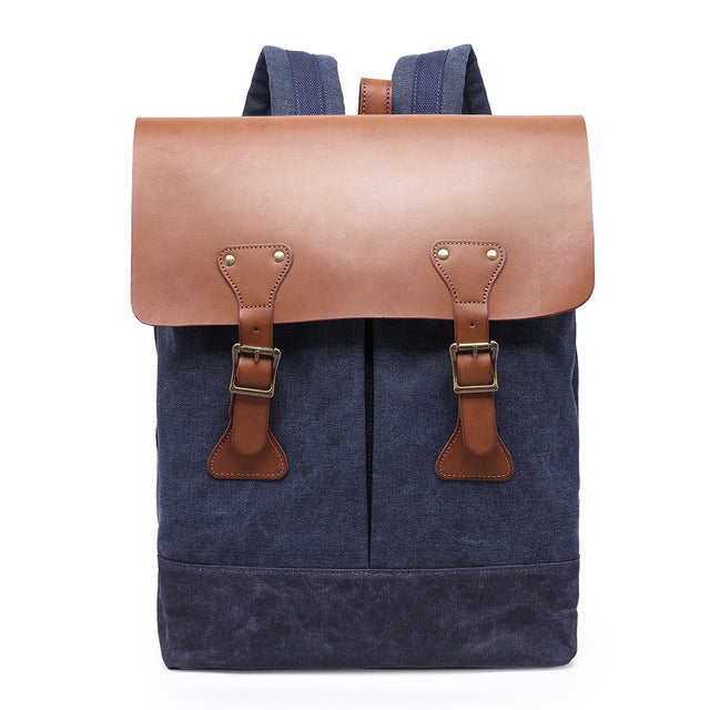 G-FAVOR Vintage Backpack Men USB Charging Connection Laptop Backpack 15.6 inches Shoulder Bags Multi Funcitonal Travel Bag Male