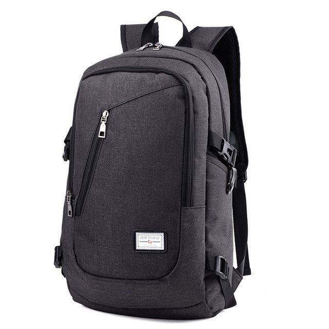 Aelicy Anti Theft Business Laptop Backpack with USB Charging Port Unisex Leisure Travel Backpack School Bags mochila feminina