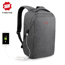 Tigernu Anti-thief 15.6 Laptop Backpack USB computer backpack for women male bagpack school Backpack for teens  youth backbag