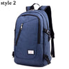 SUUTOOP New Backpack Anti Theft Password Locks Bag USB Charging Men Laptop Backpacks Business Travel School Backpack Fashion