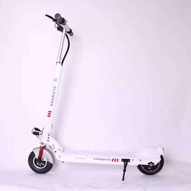 Shengte 36V 7.8A Two Wheel Mini Folding Electric Scooter