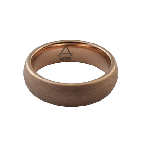NDVR - Rose Gold Tungsten Ring