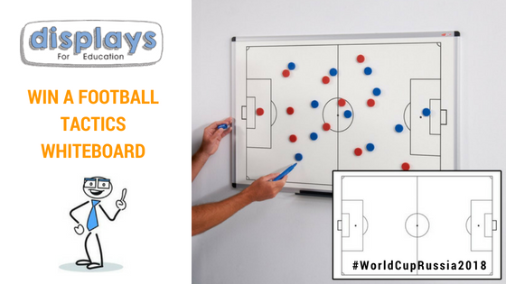 Win a Football Tactics Whiteboard!