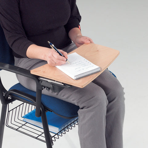 Metroplan Writing Tablet For Jane Meeting Room Chair