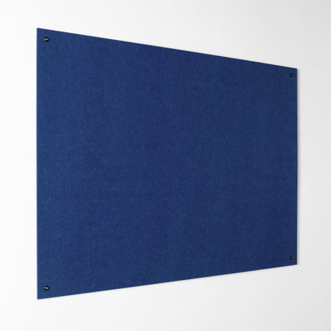 Resist-a-Flame Noticeboard - Felt Blue