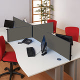BusyScreen Classic Straight Desk Screen (Loop Nylon)