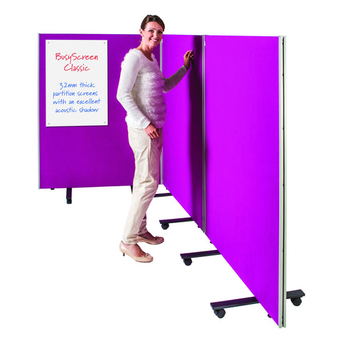 BusyScreen Triple Safety Partition Screens