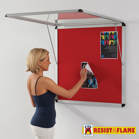 Shield Design Resist-a-Flame Corridor Tamperproof Noticeboard