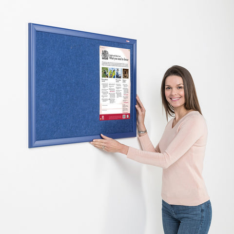 Eco-Colour Contrast Noticeboard