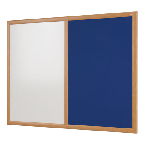 Eco-Friendly Dual Faced Whiteboard Noticeboard