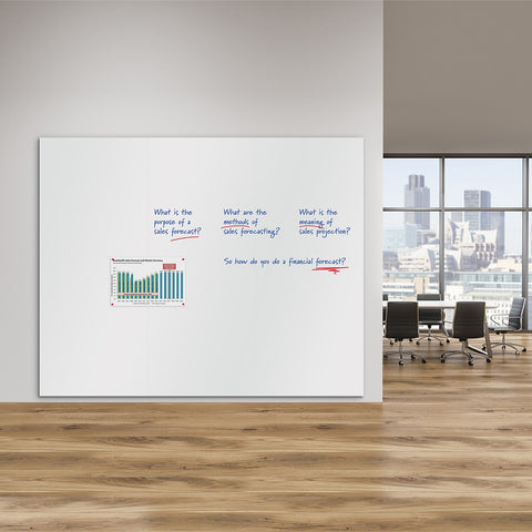 WriteOn Magnetic Whiteboard Wall
