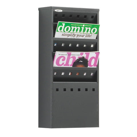Metroplan Steel wall mounted literature dispenser