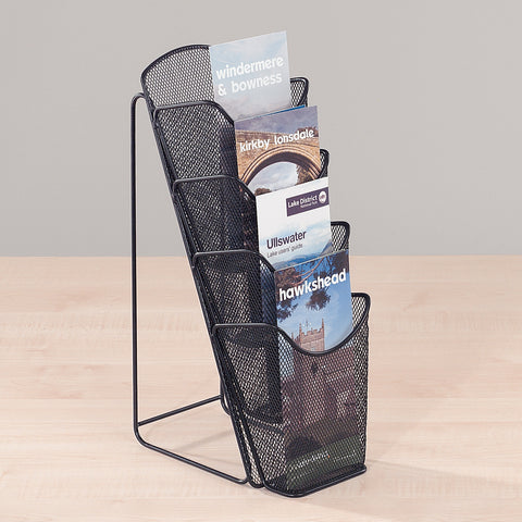 Metroplan Mesh Desktop Leaflet Dispenser