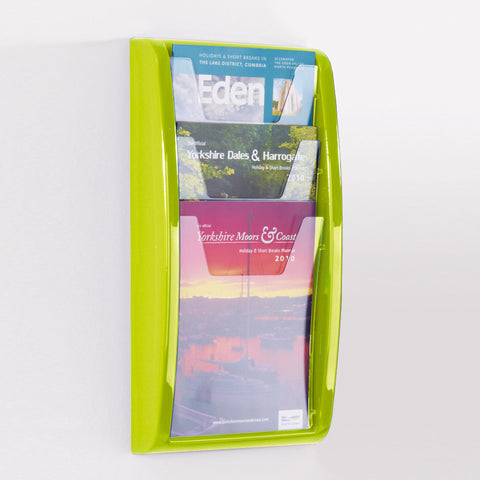 Vibrant Panorama Wall Mounted Leaflet Dispensers