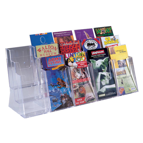 Metroplan 3 Tier Expandable Desktop Leaflet Dispenser