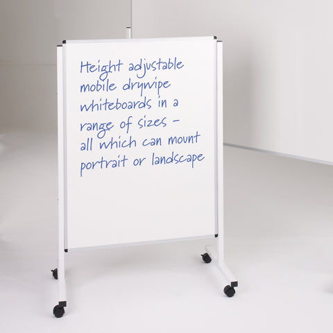 Metroplan Height Adjustable Mobile Noticeboard