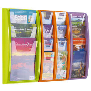 Vibrant Panorama Leaflet Dispensers